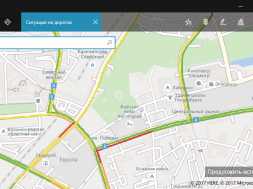 Real Time Traffic Bing Russia