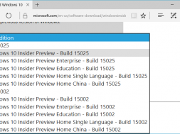 Windows 10 Build 15025 ISO