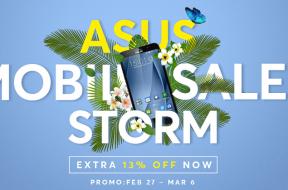 ASUS mobile sale Storm