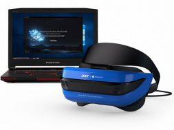 Acer Windows Mixed Reality Development Edition headset