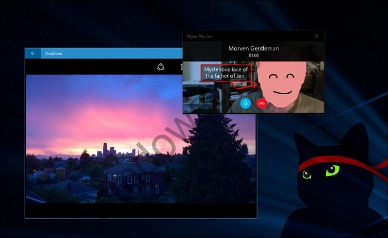 Универсальное приложение Skype получило поддержку режима Compact Overlay