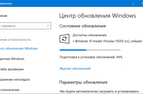 Windows 10 Insider Preview 15058