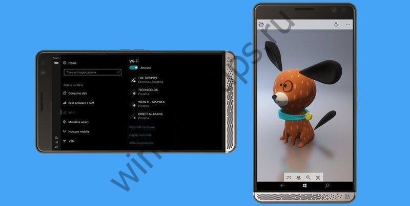 Windows 10 Mobile Insider Preview обновляется до сборки 15063.2