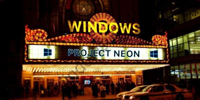 Не только приложения: внешний вид меню «Пуск» тоже будет приведен в соответствие с новым языком дизайна Project Neon