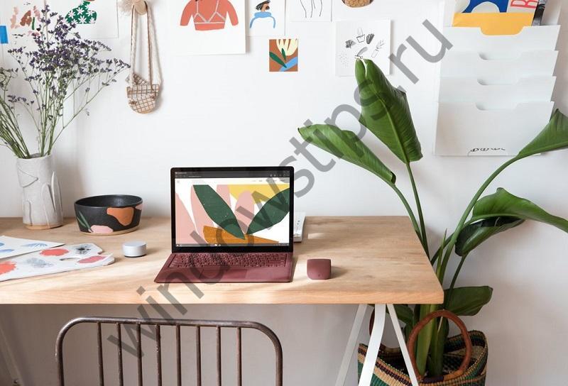Изображения Surface Laptop под управлением Windows 10 S появились до начала презентации