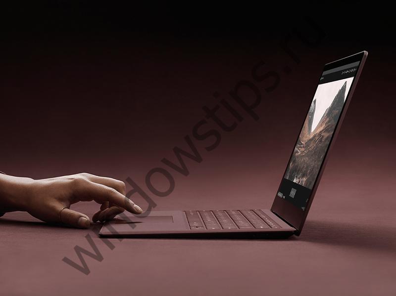 Surface Laptop – первый классический ноутбук от Microsoft, который стоит 999 долларов
