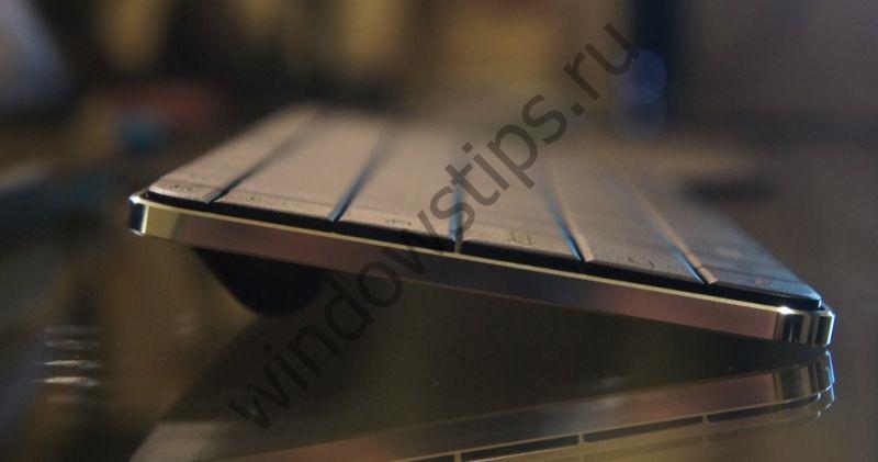 Новая клавиатура Microsoft получила сканер отпечатка пальца