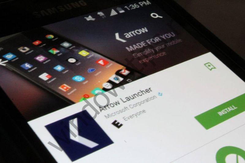 Обновление Arrow Launcher позволит синхронизировать файлы между телефоном и ПК