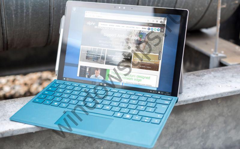 Surface Pro «засыпает» посреди рабочего процесса