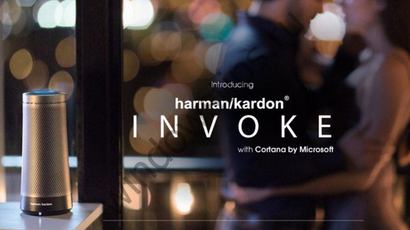 Умная колонка Invoke от Harman Kardon с Cortana на борту: в шаге от выпуска
