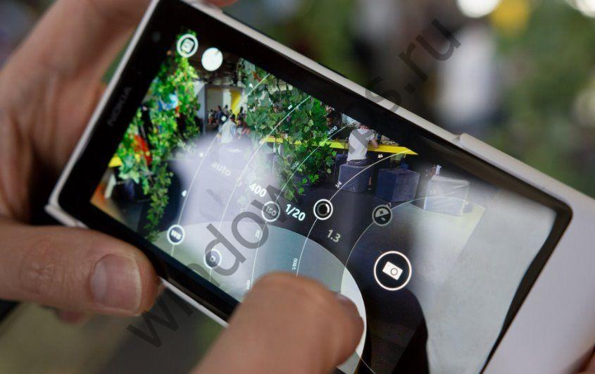 Nokia отрывает свой знаковый пользовательский интерфейс камеры Lumia