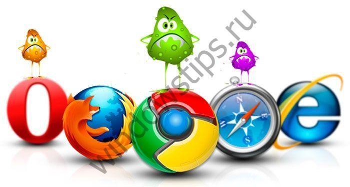 Открывается браузер сам по себе с рекламой – что делать?