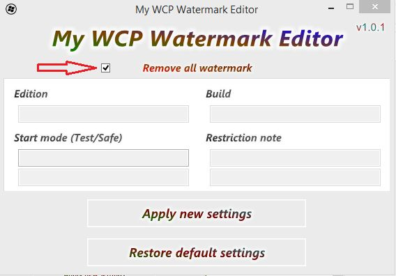 WATERMARK TÉLÉCHARGER MY EDITOR WCP