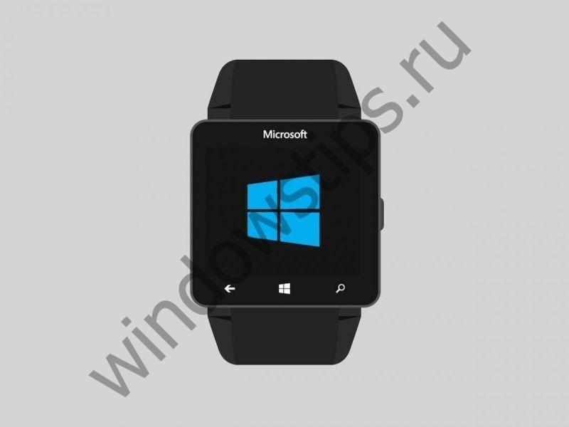 Умные модульные часы от Microsoft